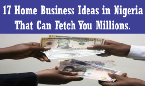 home business ideas in Nigeria